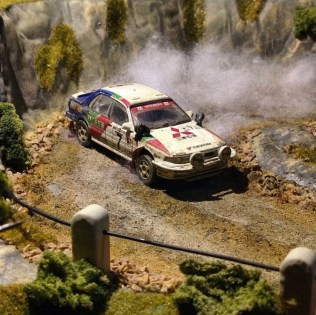 Takupon0816_Mitsubishi Galant VR4 1992 Safari Rally diorama