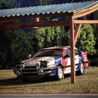 Takupon0816_Nissan 200SX Safari Rally 1988 diorama