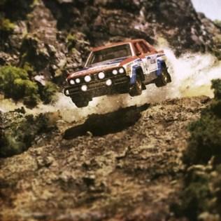 Takupon0816_Nissan Datsun Violet Rally 1981 diorama