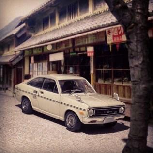 Takupon0816_Nissan Sunny 1200GX B110 1970 diorama