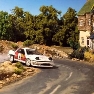 Takupon0816_Toyota Supra A70 1987 Olympus Rally diorama