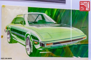 061SM-P2020394w_Mazda Savanna RX7 SA22 design sketch