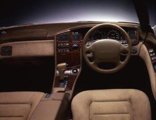 Subaru SVX S4 1995 interior