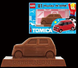 Tomica chocolate 2017 Honda N-One