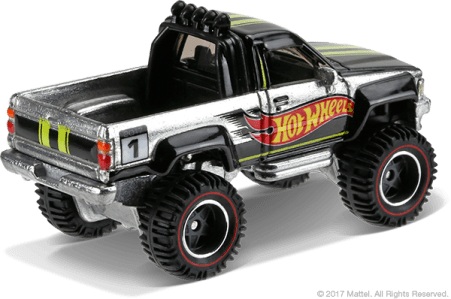 Hot Wheels 2017 Walmart mail-in 1987 Toyota Pickup 03