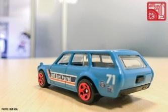 Hot Wheels Datsun 510 Bluebird JNC Surf Wagon 04