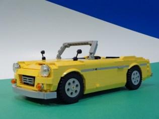 Lego Datusn Fairlady Roadster 01