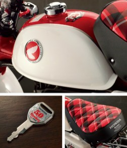 Honda Monkey Z50 50th Anniversary equipment