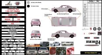 M2 Nissan Skyline Hakosuka 01 stock