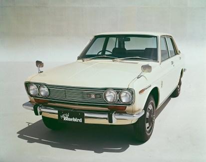 Nissan Bluebird 510 1970 1400 GL