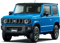 Suzuki Jimny 4th gen Brisk Blue Metallic Black Roof