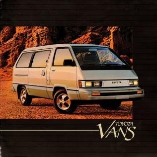 1984 Toyota Van brochure 01