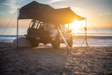 Nissan TITAN XD flexes its beach body as TITAN Surfcamp