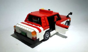 Lego Toyota Crown Comfort by Dohoon Kim 02