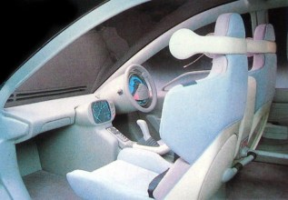 1987 Subaru BLT Front Interior