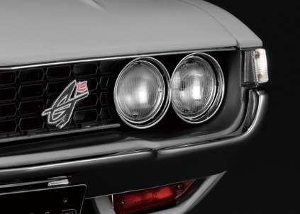 Hachette Toyota Celica Liftback 2000GT model kit lights corner