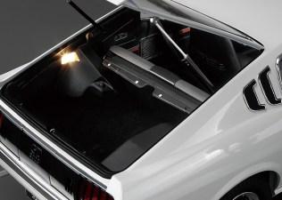 Hachette Toyota Celica Liftback 2000GT model kit trunk