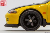 Hot Wheels Honda Civic Hatchback EG prototype yellow 3539
