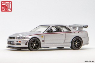 Hot Wheels Nissan Skyline GTR R34 Nismo prototype 3765