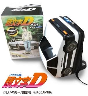 Toyota AE86 Initial D backpack 01