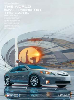 Syd Mead Toyota Camry 01
