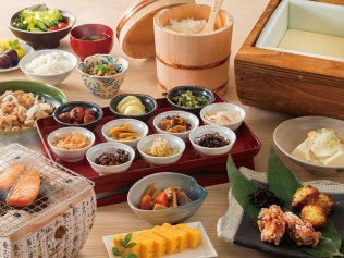 Maihama First Resort Japanese breakfast