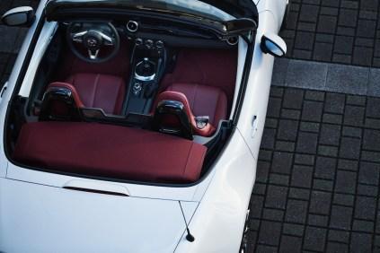 Mazda MX5 Miata ND 100th Anniversary interior