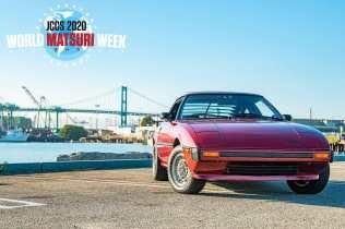 JCCS2020 World Matsuri Week Mazda RX7 SA22C