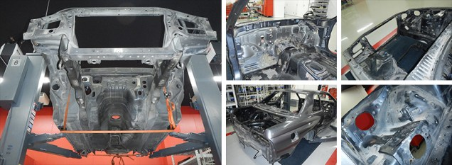 NissanSkylineGTR-R32-NISMORestoredCar 08a disassembly