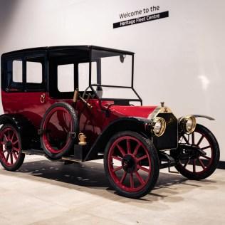 1917 Mitsubishi Model 'A' Scale Model-01