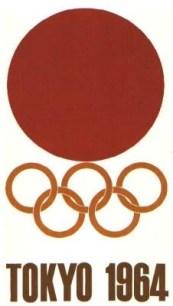 1964 Tokyo Olympics poster