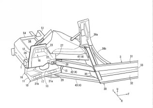 Mazda Sports Coupe patent drawing support 01
