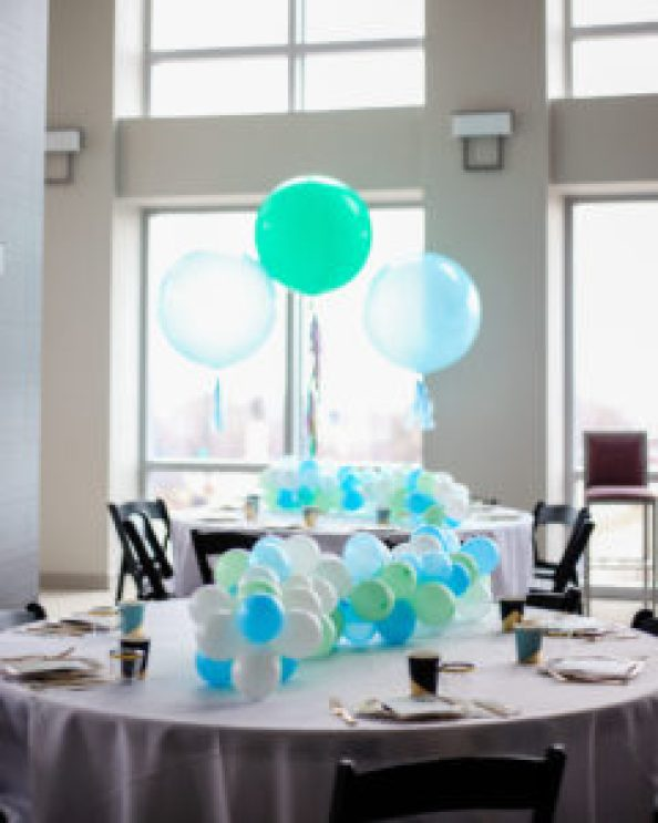 llama baby shower balloon table runner centerpieces