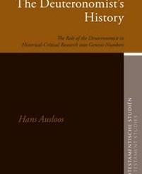 The Deuteronomist's History by Hans Ausloos