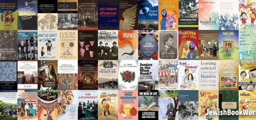 Covers of the 80 books posted on JewishBookWorld.org in September 2020