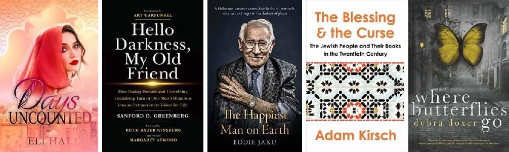 Most popular Jewish books in October