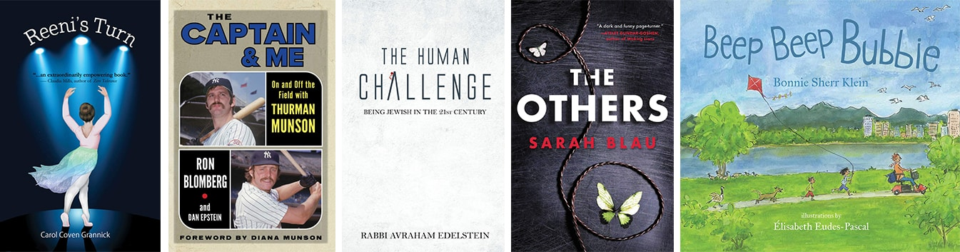 Most popular books posted in June 2021 on JewishBookWorld.org