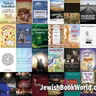The 33 books posted on JewishBookWorld.org in September 2021