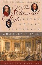 Charles Rosen, The Classical Style: Haydn, Mozart, Beethoven (Expanded Edition), (New York: Norton, 1998)