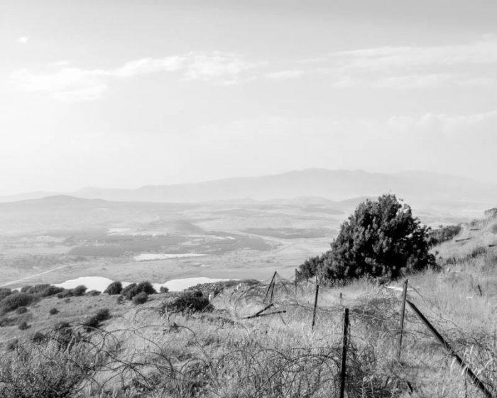 View from Merom Hagolan towards Mount Hermon, Lebanon, and Syria - No. 1