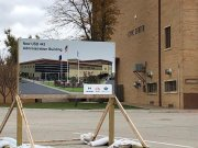The Civic Center was unavailable as a polling site this November because of construction plans in the area.
