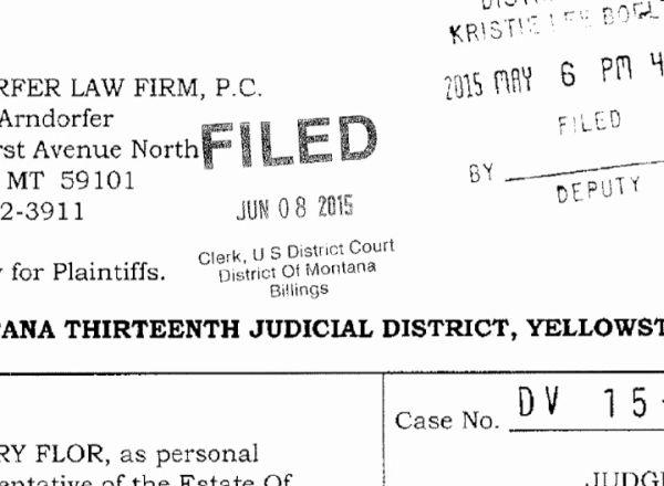 Lawsuit (MTN News photo)