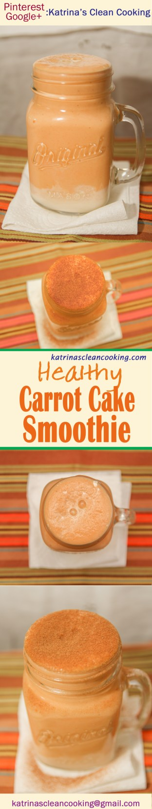 Healthy Carrot Cake Smoothie