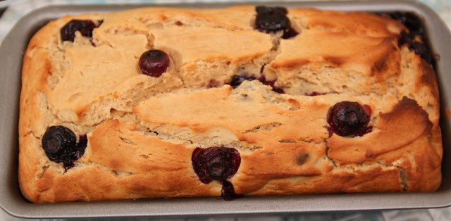 Healthy Blueberry Lemon Pound Cake from Amy's Healthy Baking @amyshealthybaking