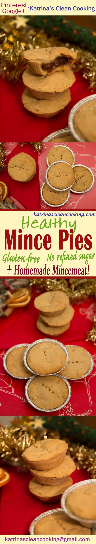 Healthy Mince Pies - Gluten free & vegan #healthy #christmas #vegan #glutenfree #refinedsugarfree