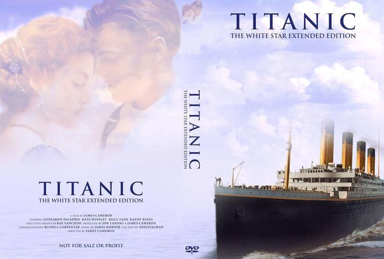 DVD фильмінің DVD фильмі Джеймс Кэмерон «Титаник»