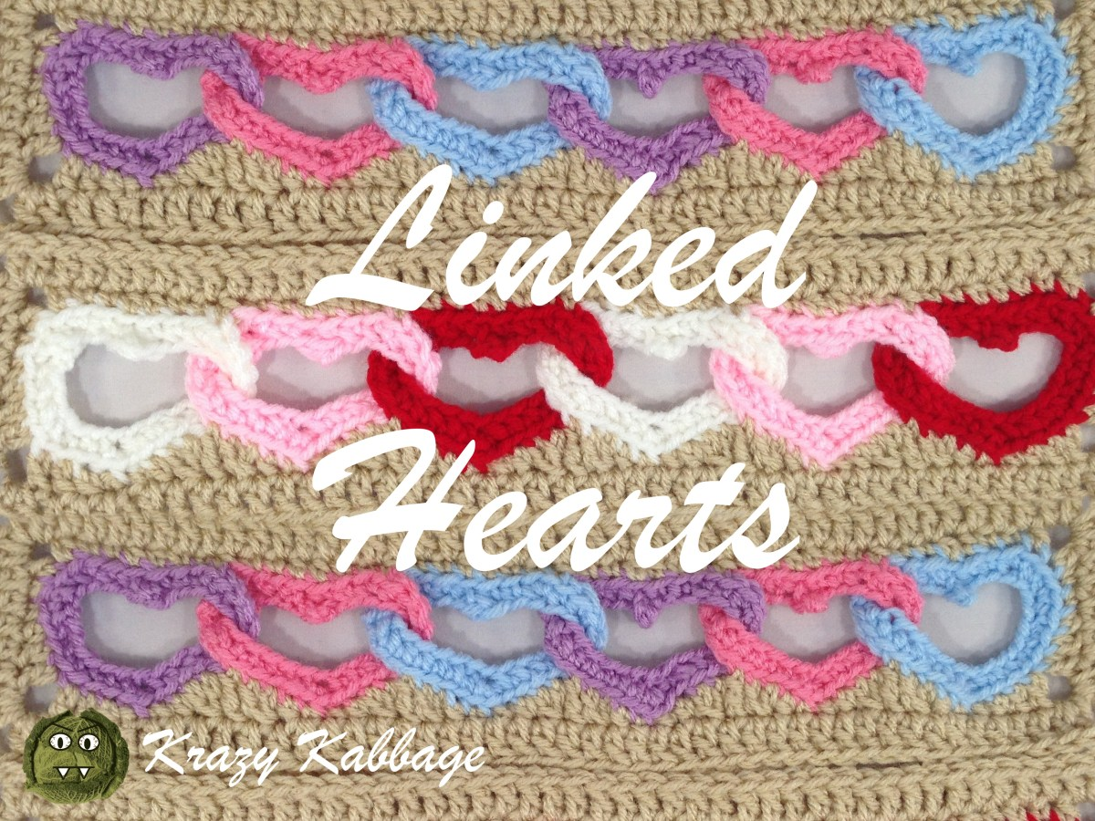 dc1fe75d8 How to crochet linked hearts free pattern – Krazy Kabbage
