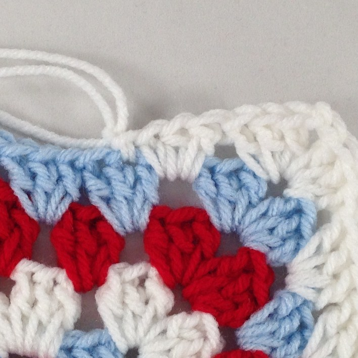 Hexagon Granny Square Hooded Cardigan Free Crochet Pattern