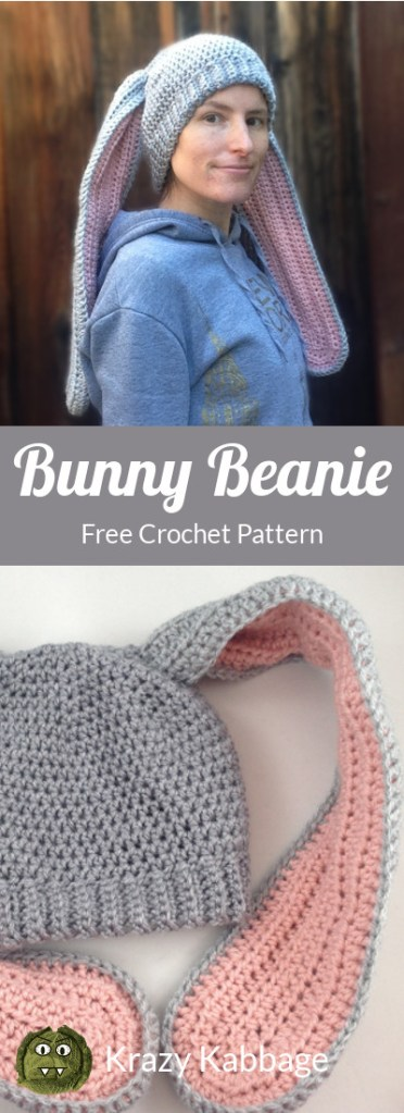 Floppy bunny - Free amigurumi pattern | 1024x372