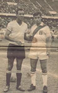 spencer con uruguay en 1960 en lima